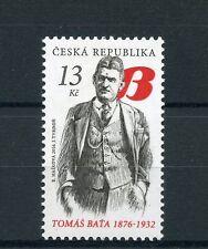 Czech Republic 2016 MNH Tomas Bata 1876-1932 1v Set Shoes Fashion Stamps