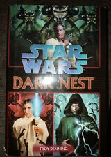Star Wars Dark Nest Trilogy Hardcover Science Fiction Sfbc 1st Printing 2006