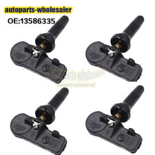 Set Of 4 13586335 Genuine New TPMS Tire Pressure Monitoring Sensor Fits For GM