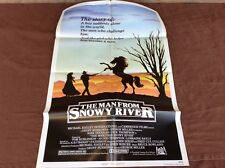 1982 The Man From Snowy River Original Movie House Full Sheet Poster