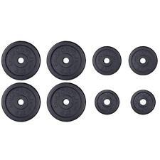 ScSPORTS® 27,5 kg Hantelscheiben Set Guss 4x 5 /2x 2,5 /2x1,25 kg Gewichte 30 mm