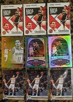 Lot of 9 Trae Young 2019-20 Chronicles 🔥 Bronze, Green Parallels, Marquee, etc.