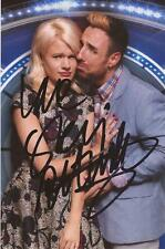CELEBRITY BIG BROTHER/X FACTOR: STEVI RITCHIE SIGNED 6x4 PHOTO+COA **PROOF**