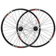"""29"""" Mountain Bike Disc Brake Wheel Bicycle Wheel 29ER Wheelset MTB Hubs Black"""
