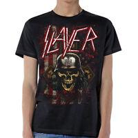 Slayer Slaymerica USA Flag American Music Rock Metal Band Adult Mens T Tee Shirt