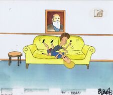 BEAVIS & BUTTHEAD Animation Art MTV COA Original Production Cel Cell 90s Therapy