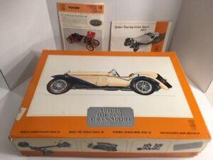 RARE HUGE 1/8 POCHER 1932 ALFA ROMEO MODEL K-73 KIT ORIGINAL UNSTARTED OPEN BOX