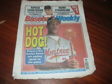 USA Today Baseball Weekly - Sept 5, 1995 Carlos Perez Montreal Expos