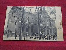 CPA animée ecole ALLEMAGNE / MULHEIM RUHR Auerstrasse-Schule 1911