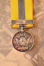 BRITISH EGYPTIAN ARMY NAVY KHEDIVES SUDAN MEDAL 1896-08 THE ATBARA