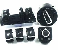 Bundle 6x pezzi ricambio tasti interruttori bottoni pulsanti per VW Volkswagen