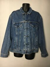 Vintage Levi's Denim 70503 02 Trucker Jacket, Mid Blue, Button Up , XL, VGC