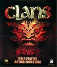 Clans PC CD fight dark minions demons mages dungeon role-playing combat RPG game