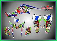 Kawasaki kfx 400 ATV QUAD  SEMI CUSTOM GRAPHICS  DECALS MAYHEM