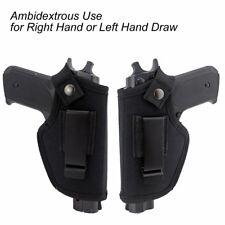 Universal Concealed Gun Holster Carry Holsters Belt Metal Clip IWB OWB Holster