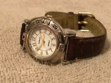 Women's Carriage Indiglo Watch - Silver Tone