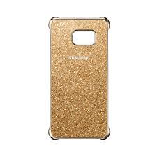 Samsung Glitter Cover Gold EF-XG928 Galaxy S6 edge+ Case Glitzer Schutz Hülle