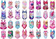 Girls Kids Character Swimwear Swimming Costume Swimsuit Bikini age 1,5-12 years