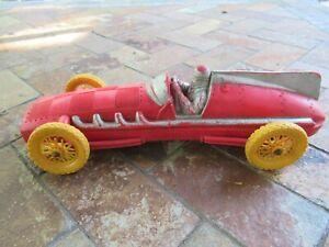 Vintage Auburn Rubber Race Car