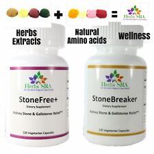 Chanca Piedra Stone Kidney Remove 240 Capsules Stone Root, Gravel root Formula.