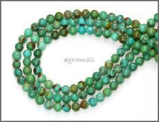"15.6"" Chinese Turquoise Round Beads 4mm #82142"