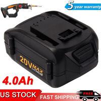 4000mAh 20V MAX LITHIUM for WORX WA3520 WA3525 WG155s WG251s WG163 WA3575 WA3578