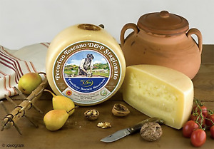 Pecorino Toscano DOP 90 Days Aged cheese - Whole Wheel 5 Lbs