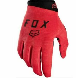 FOX HEAD Ranger Glove Gel BRIGHT RED 22941-368S Men's Clothing Gloves Long sizeS