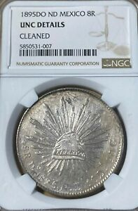 1895DO NGC Unc Details! Mexico 8R