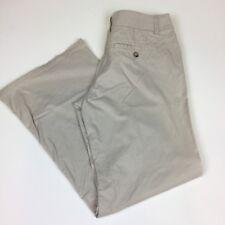 NY&C Sz 10 Pant Tan Khaki Wide Leg Casual Womens