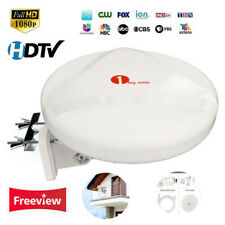 1Byone New Antenna 360° Reception Concept 100Miles Tv Omni-directional Amplified
