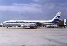 Aviaco Airlines McDonnell Douglas DC-8-55F EC-DBE Postcard
