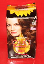 GARNIER OLIA OIL POWERED PERMANENT COLOR 5.3 ~  MEDIUM GOLDEN BROWN ~ 1 kit
