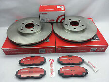 BMW X5 xDrive30i Genuine Brembo Set Rear Rotors + Ceramic Brake Pad + Sensor