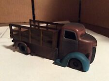 JADA TOYS D-RODS' 47  FORD COE unrestored flatbed stake sides 1/64 loose