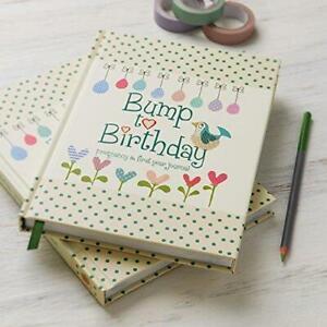 Bump To Birthday Pregnancy 1St Year Baby Diary Record Book Parent Child Keepsake