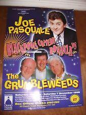 Blackpool Grand Summer Season poster (The Grumbleweeds, Joe Pasquale)