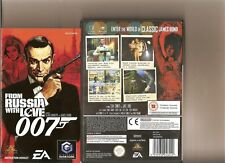 FROM RUSSIA WITH LOVE NINTENDO GAMECUBE / WII BOND 007
