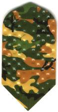 Jungle Camouflage Slim Dimplex Dart Flights: 3 per set