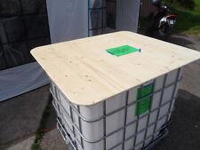 Tischplatte für IBC Fass 120x140cm Fete Party Fest Stehtisch Bar Veranstaltung
