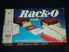 RACK-O CARD GAME MILTON BRADLEY 1961
