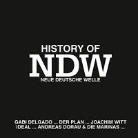 CD History Of NDW von Various Artists mit Ideal, Joachim Witt, Rheingold