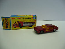 Matchbox  Superfast   MB 20 Lamborghini Marzal  mit OVP -  Made in England
