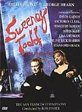 Sweeney Todd in Concert (DVD, 2002) Like New