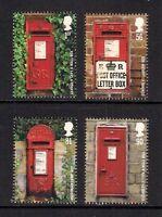 GB 2009 sg2950-53 Post Boxes set MNH