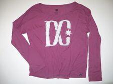 New DC Shoes Womens Fabrik Long Sleeve Tee T-Shirt Medium