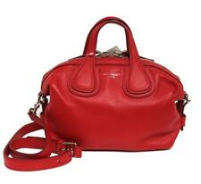 New Givenchy Micro Leather Red Nightingale Messenger Bag