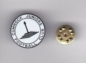 Cumnock Juniors - lapel badge butterfly fitting