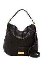 Marc by Marc Jacobs New Q Hillier Leather Hobo black handbag designer M0009407