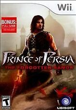 Prince of Persia: The Forgotten Sands (Nintendo Wii, 2010) TESTED COMPLETE